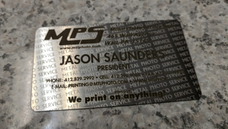 MPS business card